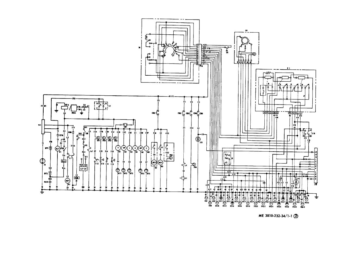 TM 5 3810 232 340036im figure 1 1 (1) carrier schematic wiring diagram continued carrier wiring schematic at bayanpartner.co