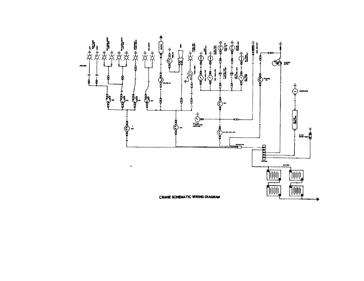 crane schematics figure 1-2. crane schematic wiring diagram. #10
