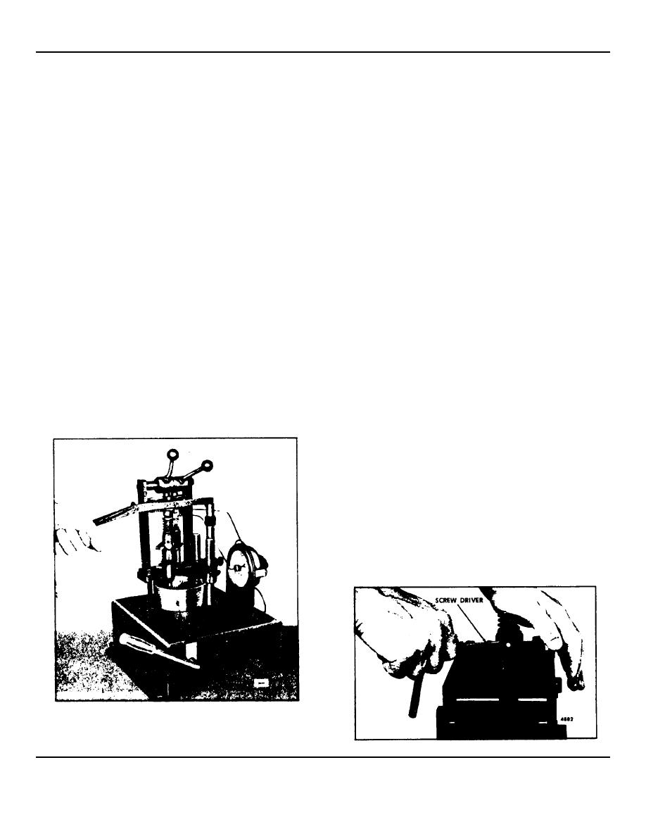 Fig 10 Spray Pattern Test