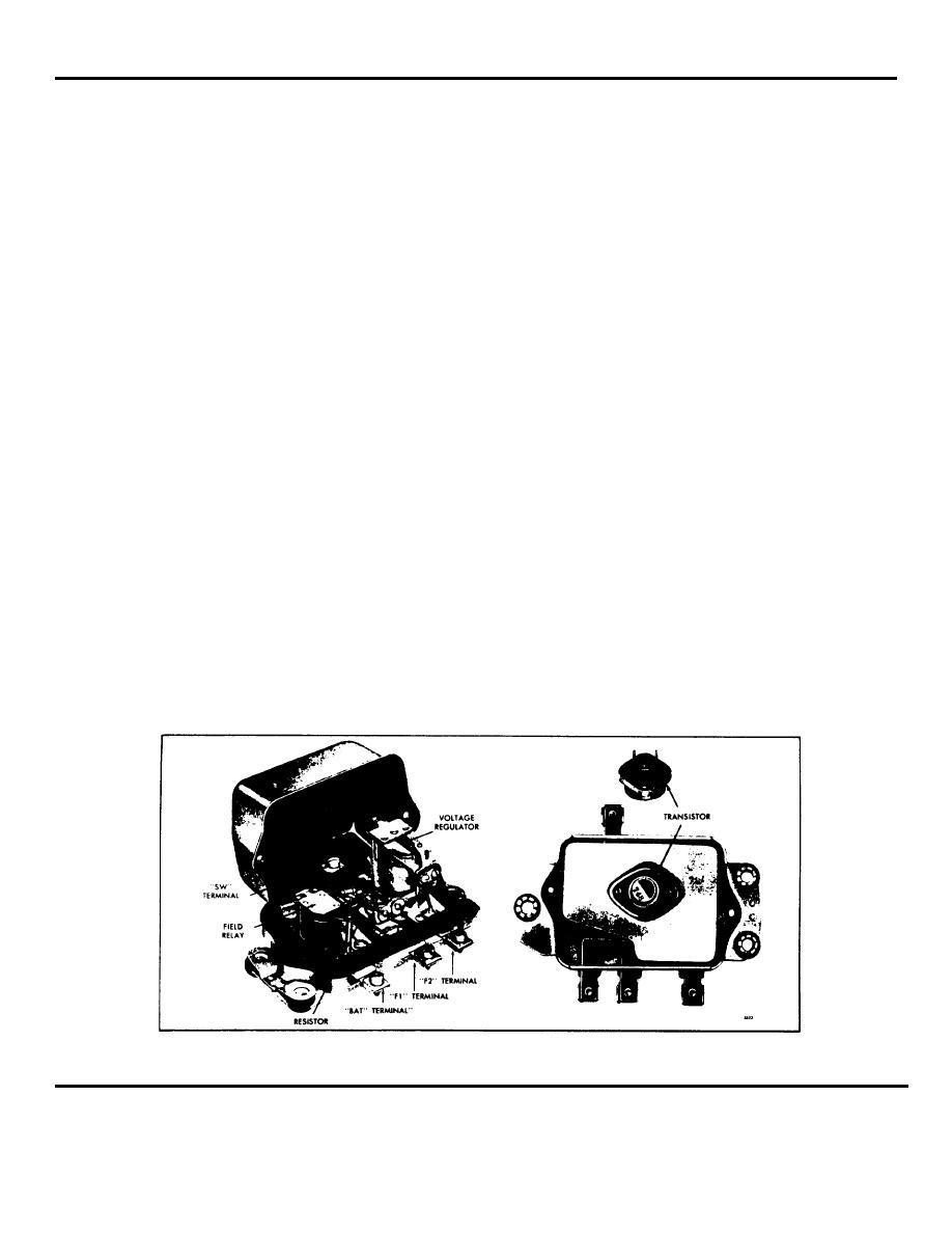 transistorized and transistor regulators