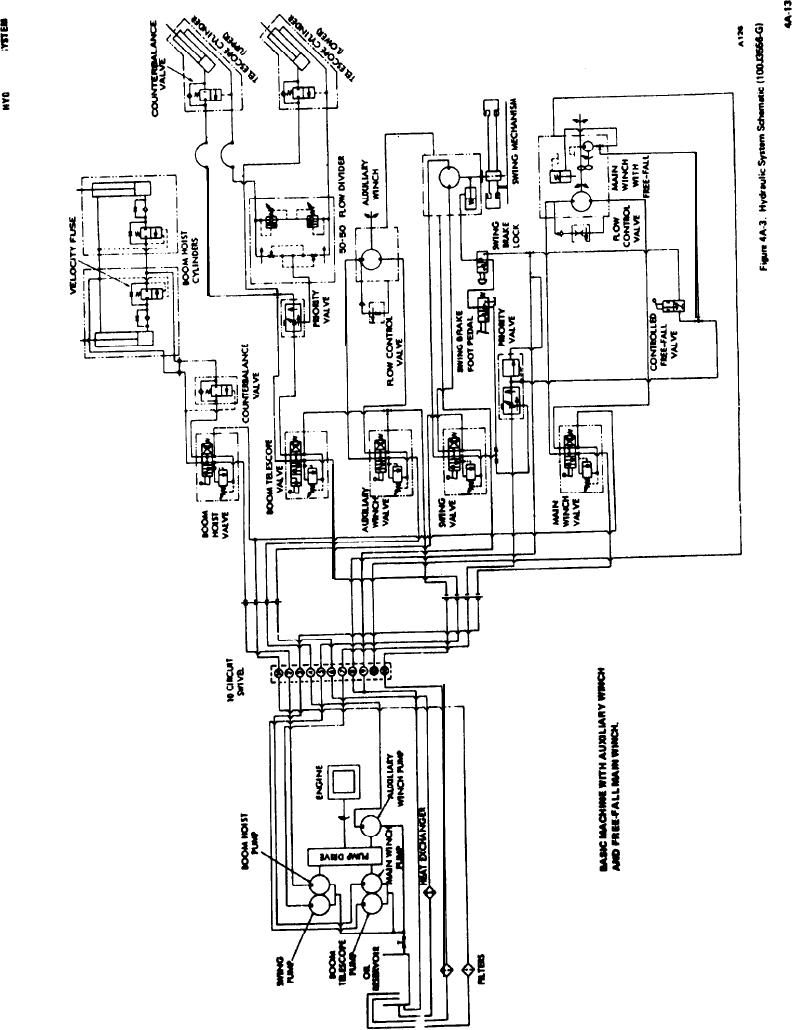 Hydraulic Brakes Diagram : Schematic diagram hydraulic brake system the wiring