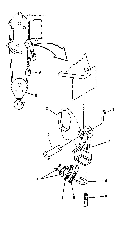 Hook Block Installation Cont